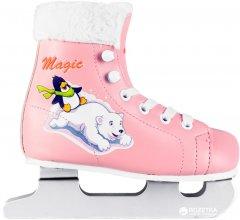 Коньки двухполозные детские СК Magic 26 Pink (23142406)