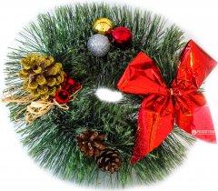 Венок Новогодько (YES! Fun) Маленькая радость 15 см Зеленый (4820079037594)