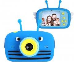 Цифровой детский фотоаппарат XoKo KVR-100 Bee Dual Lens Голубой (KVR-100-BL) (9869201149885)