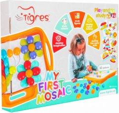 Игрушка развивающая Tigres Моя первая мозаика (39370 Оранжевый)