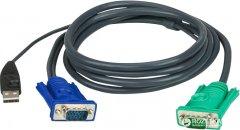 KVM-кабель ATEN 2L-5202U USB 1.8 м (2L-5202U)