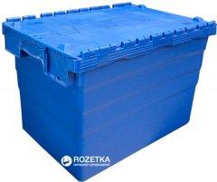 Ящик пластиковый с крышкой Sembol SPKM416 600х400х416 мм (62505050-P00104)