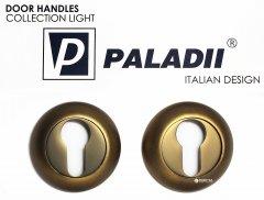 Накладка дверная Paladii круглая кофейная (ПР128)