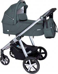 Универсальная коляска 2 в 1 Baby Design Husky NR 17 Graphite (202520) (5906724202520)