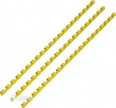 Пластиковые пружины DA d 51 мм 50 шт Желтые (1220201510206)
