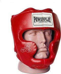 Боксерский шлем PowerPlay 3043 M Красный (PP_3043_M_Red)
