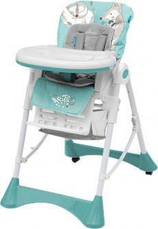 Стульчик для кормления Baby Design Pepe New 05 Turquoise (292095) (5901750292095)