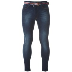 Джинси Kangol Belt Skinny Jeans Mens 36WR Indigo (4916903)