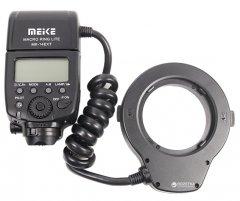 Кольцевая макровспышка Meike для Canon MK-14EXT (RT960125)