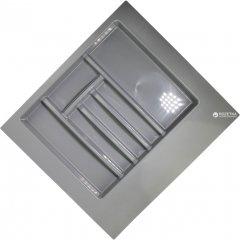 Лоток для столовых приборов Union Plast 600 мм 550х500х45 мм Серый (VR13995)