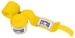 Бинты боксерские Power System PS-3404 4 м Желтый (PS_3404_Yellow)