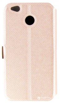 Чехол-книжка Dengos Flipp-Book Call ID для Xiaomi Redmi 4X Gold (DG-SL-BK-147)