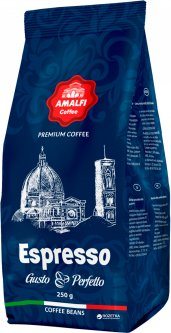 Кофе в зернах Amalfi Espresso Gusto Perfetto 250 г (4820163370040)
