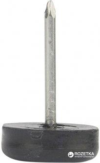 Ножка мебельная Smart с гвоздём одинарная Черная 1000 шт (VR52759)