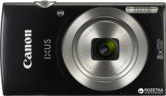 Фотоаппарат Canon IXUS 185 Black (1803C008AA) Официальная гарантия!
