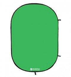 Фон тканевый Falcon Chroma Key Green на пружине 158х193 см (RBP-6276/BCP-10)