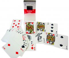 Карты игральныe покерные пластиковыe Duke Trump 54 листа 86x62 мм Синие (DN20275BL)