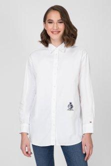 Жіноча біла сорочка FAWN BOYFRIEND SHIRT Tommy Hilfiger 2 WW0WW25624