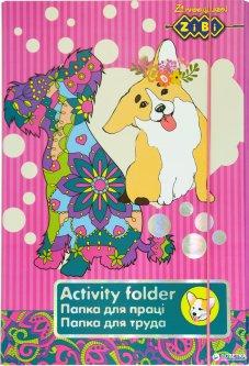 Папка для труда ZiBi Art Effect Dog А4+ на резинке (ZB17.14904)