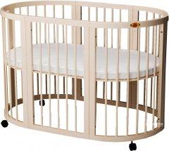 Кроватка трансформер IngVart 9-в-1 Молочный (1729001)
