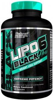 Жиросжигатель Nutrex NR Lipo-6 Black Hers 120 капсул (857268005748)