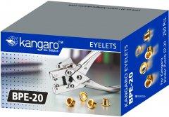 Клепки Kangaro BPE-20 металлические 20 листов Желтые (8901057500210)