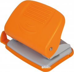 Дырокол с линейкой Economix 20 листов Оранжевый (E40134-06)