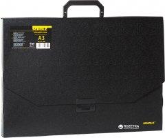 Портфель пластиковый Scholz А3 1 отделение Черный (8591662506594)