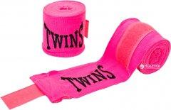 Бинты боксерские Twins 3 м Розовые (5466-3-3)