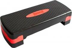 Степ-платформа PowerPlay 4328 2 уровня 10-15 см Черно-красная (PP_4328_(2)_Black/Red)