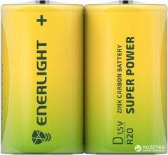 Батарейка Enerlight Super Power D 2 шт (80200202)