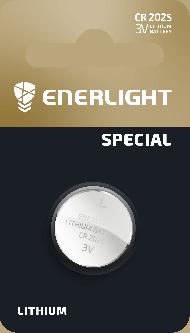 Батарейка Enerlight Lithium CR 2025 1 шт (70250101)
