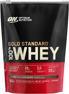 Протеин Optimum Nutrition 100% Whey Gold Standard 450 г Double Rich Chocolate (748927052251)