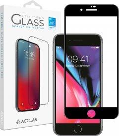 Защитное стекло ACCLAB Full Glue для Apple IPhone 7/8 Plus Black (1283126508165)