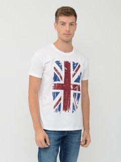 Футболка Sol's Regent Great Britain Flag 11380102/10 S Белая