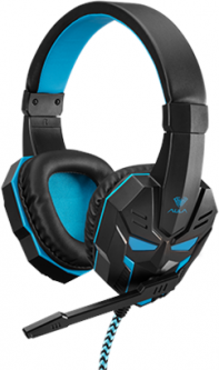 Наушники Aula Prime Basic Gaming Headset Black-Blue (6948391232768)