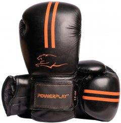 Боксерские перчатки PowerPlay 3016 12 унций Black/Orange (PP_3016_12oz_Black/Orange)