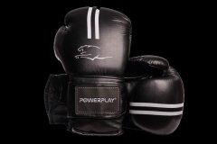 Боксерские перчатки PowerPlay 3016 8 унций Black/White (PP_3016_8oz_Black/White)