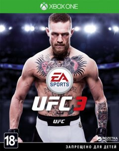 Игра UFC 3 для Xbox One (Blu-ray диск, Russian subtitles)
