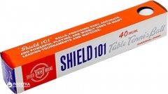 Мячи для настольного тенниса Shield 101 6 шт белый (G1801)
