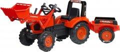 Детский трактор Falk 2060AM Kubota на педалях Красный (2060AM) (3016202060145)