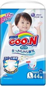 Подгузники-трусики Goo.N L 9 - 14 кг для мальчиков 44 шт (843097) (4902011751383)