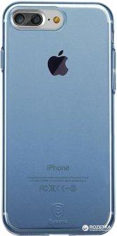 Панель Baseus Simple Series Case для Apple iPhone 8 Plus/7 Plus - Clear Blue (ARAPIPH7P-C03)