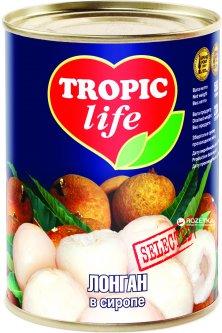 Лонган в сиропе Tropic Life 580 мл (5060162900735)
