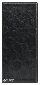 Визитница Axent на 80 визиток 260x114 мм Черный (2502-01-A)