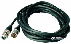 Микрофонный кабель RockCable RCL30303 D7 3 м Black (RCL30303 D7)