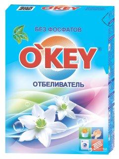 Кислородный отбеливатель для белого белья O'key 500 г (4820049381566)