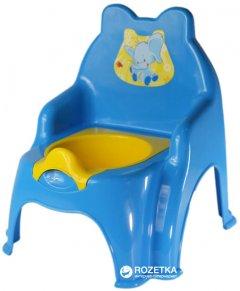 Детский горшок Active Baby Слоник Голубой (01-013317-1/011) (4822003250024)