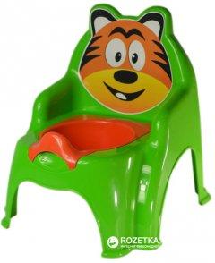 Детский горшок Active Baby Тигрик Зеленый (01-13317/017) (4822003281530)