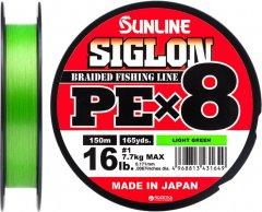 Шнур Sunline Siglon PE х8 150 м # 1.0/0.171 мм 7.7 кг Салатовый (16580965)